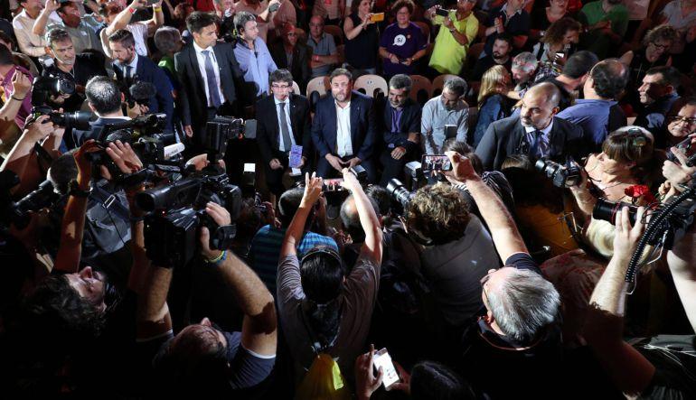 Reporteros sin Fronteras alerta del acoso contra periodistas críticos al 'procés'