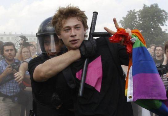 En Rusia, la homosexualidad es penalizada