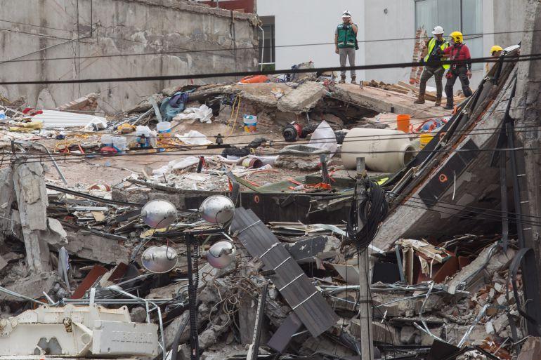 escombros, sismos, SEMARNAT: Reutilizará SEMARNAT los escombros de edificios derrumbados por sismo