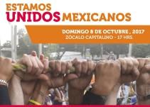 """Artistas confirmados para 'Estamos Unidos Mexicanos"""" en el Zócalo"""
