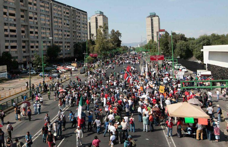 Marchas hoy, Movimiento estudiantil del 68: ¡Apoyo vial! Cierres por la marcha del 2 de Octubre