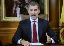 El Rey de España, Felipe VI, ve una deslealtad inadmisible en autoridades de Cataluña
