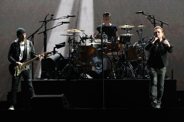 U2: Las 5 canciones más exitosas de U2