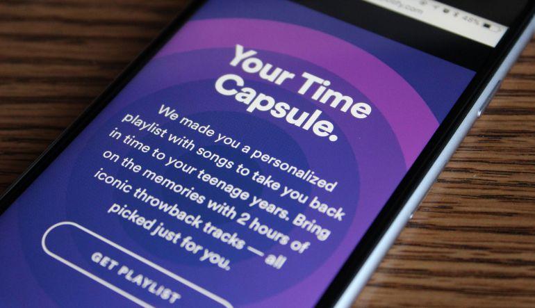 'Cápsula del Tiempo', la nueva función de Spotify que te hará sentir nostalgia