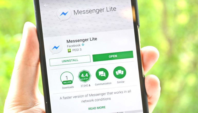 Red Social: Messenger Lite llega a todo el mundo