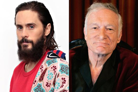 Jared Leto de universitario a… ¿Hugh Hefner?