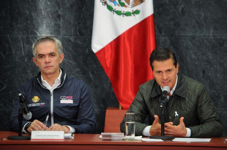 apoyos económicos, reconstrucción CDMX: Habra créditos por 6 mil mdp para reconstrucción en la CDMX: EPN