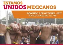 Cantantes confirmados para el evento 'Estamos Unidos Mexicanos'