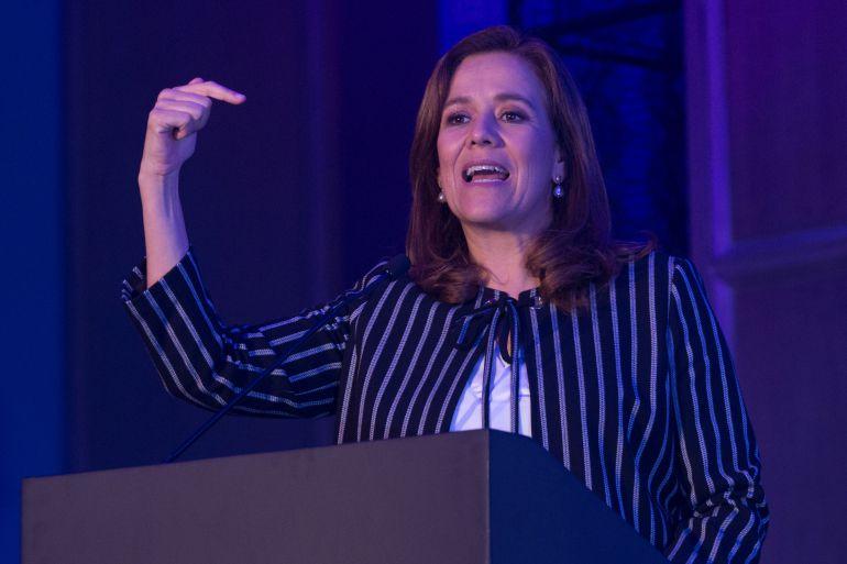 Margarita Zavala, renuncia, PAN: Renuncia Margarita Zavala al PAN