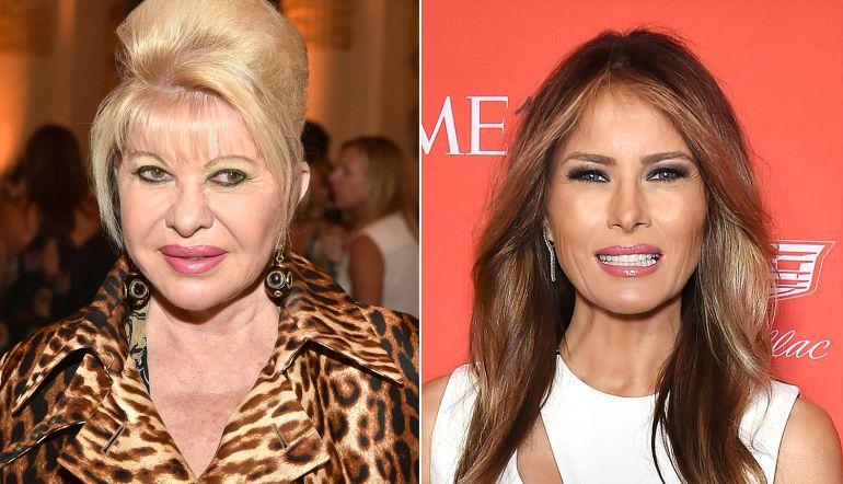 """Primera esposa de Trump reclama su lugar como """"Primera Dama"""""""