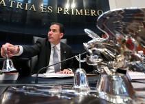 Pablo Escudero deja el Senado