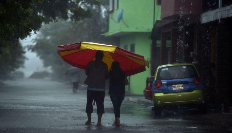 Clima hoy,13 octubre 2017: Prevén tormentas fuertes en Veracruz, Tabasco, Oaxaca y Chiapas