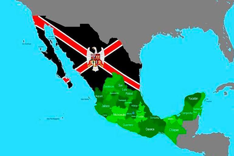 Aridoamérica: Redes sociales promueven Independencia del Norte de México