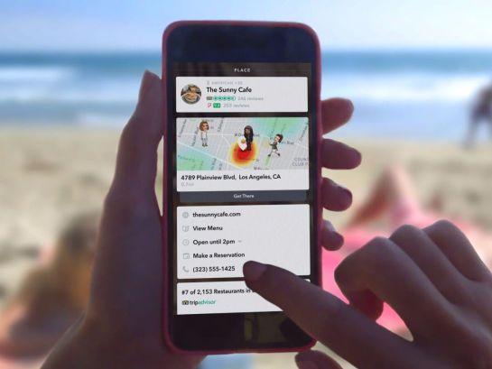 Snapchat lanza función para solicitar Uber desde la aplicación