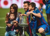 Messi y Antonella esperan a su tercer hijo