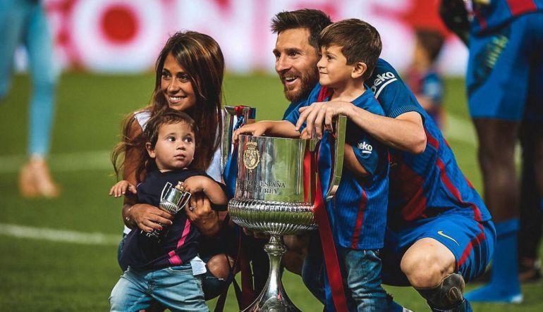 Messi,Barcelona: Messi y Antonella esperan a su tercer hijo