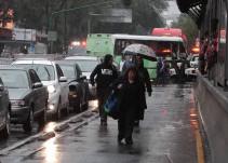 Se esperan tormentas fuertes en gran parte del país