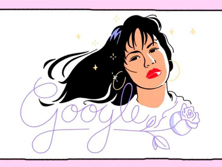 Selena Quintanilla: Google recuerda a Selena con Doodle