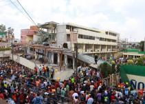 Investiga CNDH tragedia en Colegio Enrique Rébsamen