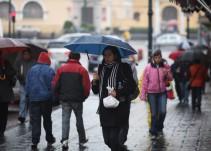 Continúan lluvias por efectos de Frente Frío No. 5