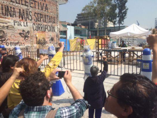 Sismo en México: #Homenaje19S: Así se vivieron los minutos de silencio en la CDMX