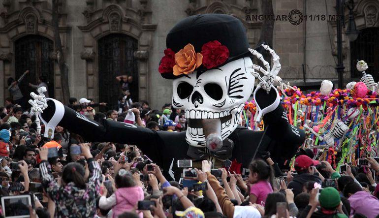 Resultado de imagen para desfile dia de muertos 2017