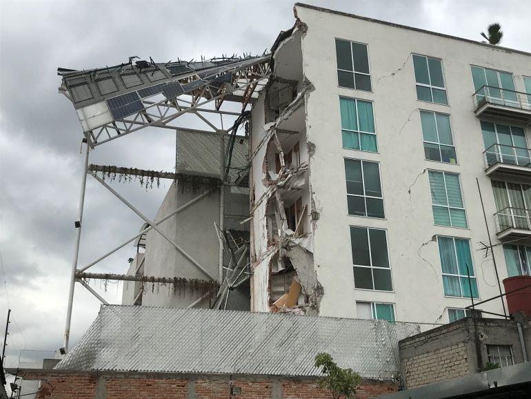 Detienen al primer DRO de edificio colapsado por el sismo