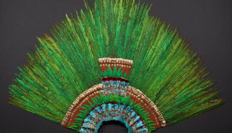 El Penacho de Moctezuma reaparece en Viena