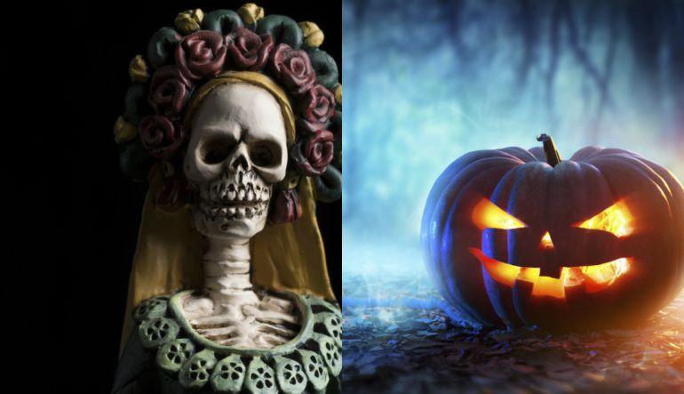Día de muertos: Día de muertos y Halloween: ¿Cuáles son sus diferencias?