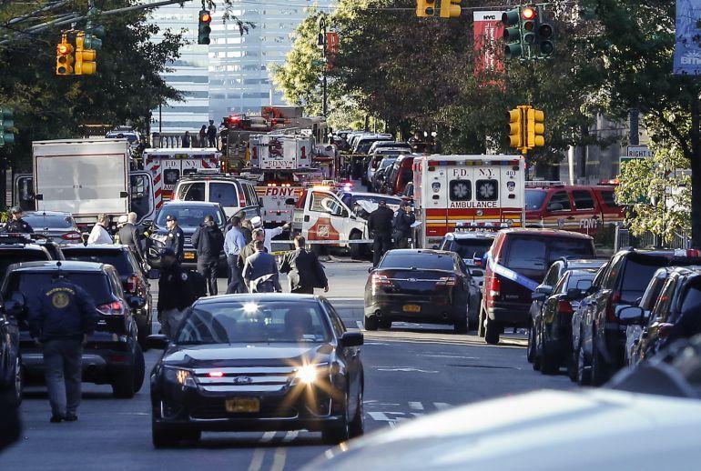 Atropellamiento en Manhatan es una acto terrorista: alcalde de Nueva York