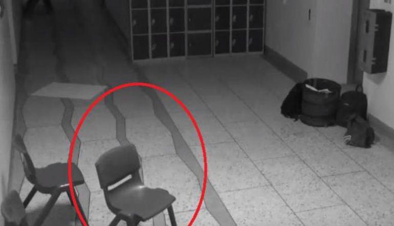 Actividad paranormal: [VIDEO] Captan fantasma en escuela primaria