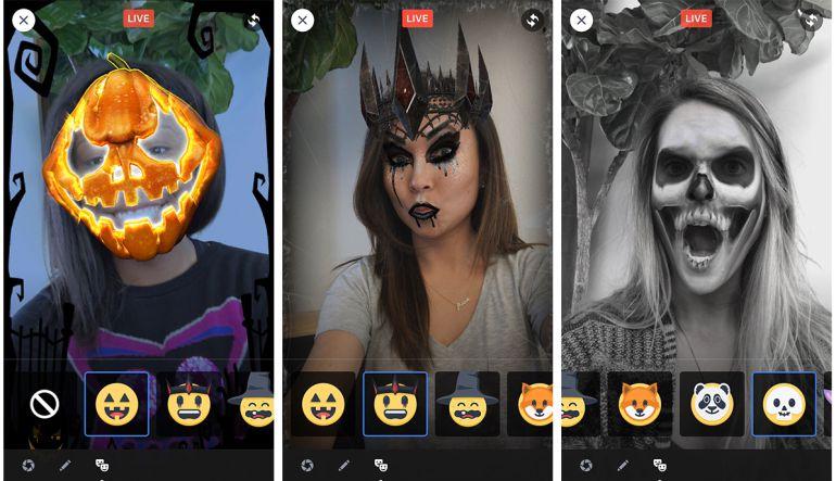 Halloween 2017: Facebook lanzó filtros para Halloween