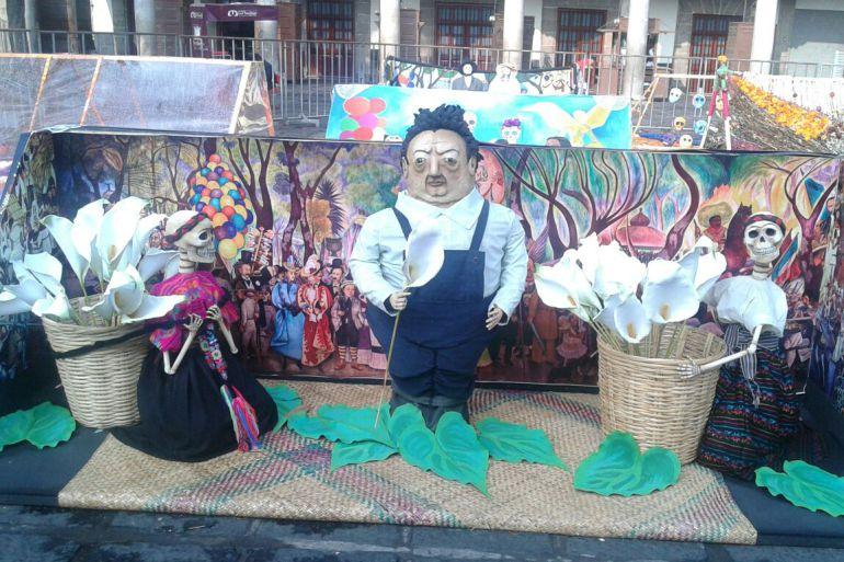 Día de Muertos: Megaofrenda de la UNAM en la Plaza de Santo Domingo