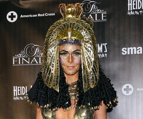 "Heidi Klum: Los 4 mejores disfraces de la ""reina del Halloween"""