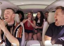 Fifth Harmony sorprende a Sam Smith durante Carpool Karaoke