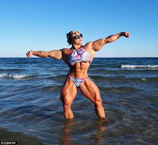 Ella es la mujer más musculosa del mundo
