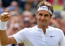 Roger Federer juega vistiendo una falda escocesa