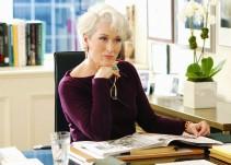 Meryl Streep conoce a la verdadera editora de Vogue, Anna Wintour