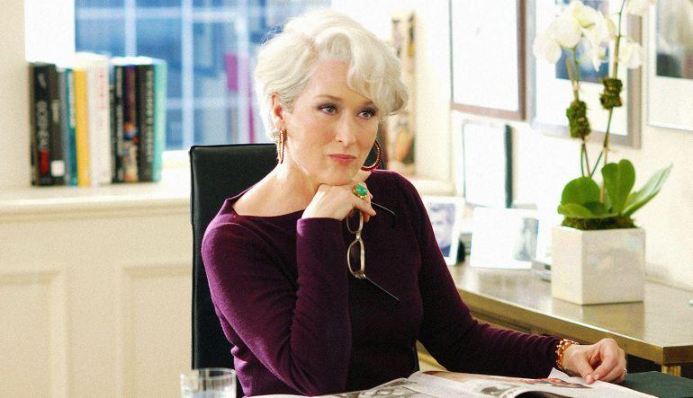 Meryl Streep: Meryl Streep conoce a la verdadera editora de Vogue, Anna Wintour
