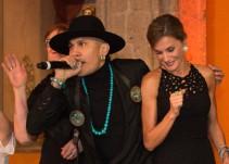 Integrante de Black Eyed Peas cautiva a la Reina Letizia con su baile