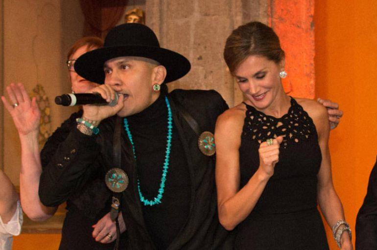Video, Taboo, Cumbre Mundial de Líderes contra el Cáncer: Integrante de Black Eyed Peas cautiva a la Reina Letizia con su baile