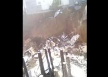 Derrumbe en Monterrey deja un muerto y varios desaparecidos