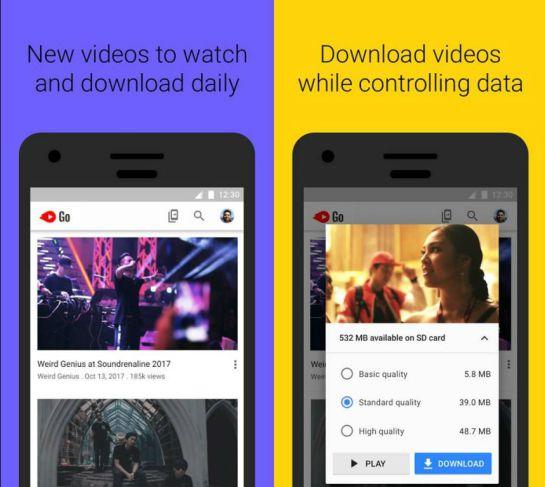 YouTube: Google lanzó YouTube Go, una app para descargar videos
