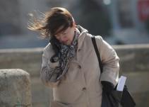 Prevén vientos fuertes sobre el norte y noreste del país por frente frío No. 14
