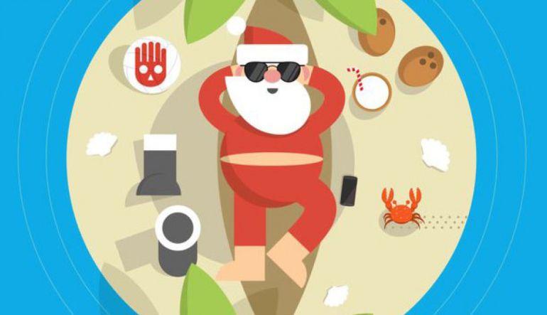 Santa Claus: Google Maps nos muestra el recorrido de Santa
