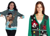 ¡Atrévete a usar suéteres navideños!