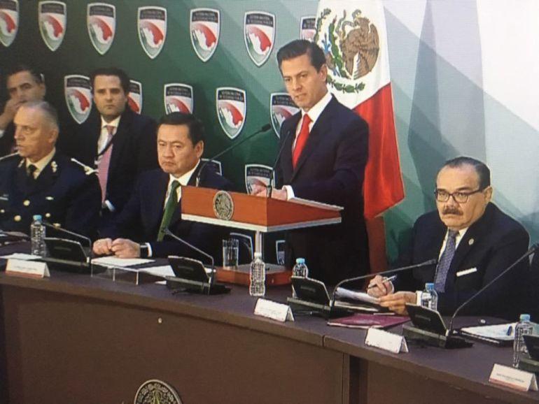 EPN promulgará la Ley de Seguridad Interior para que la SCJN decida si es constitucional o no