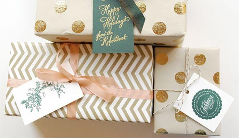 El ABC para envolver regalos