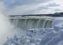 Imágenes de Estados Unidos congelado por el invierno