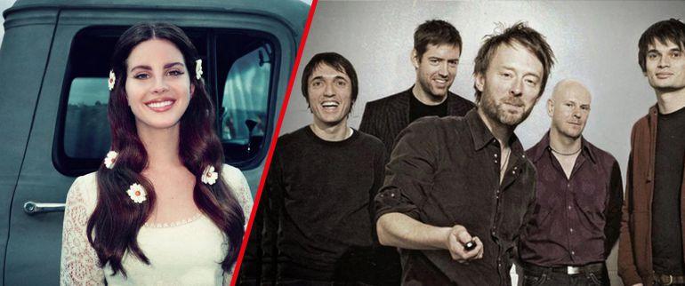 Lana del Rey, Radiohead, Creep: Lana Del Rey confirma 'pleito' con Radiohead